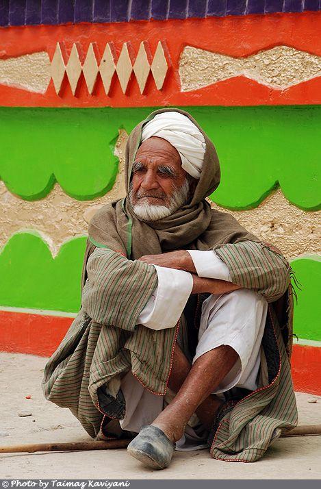 Afgan Man in Balkh, Afghanistan