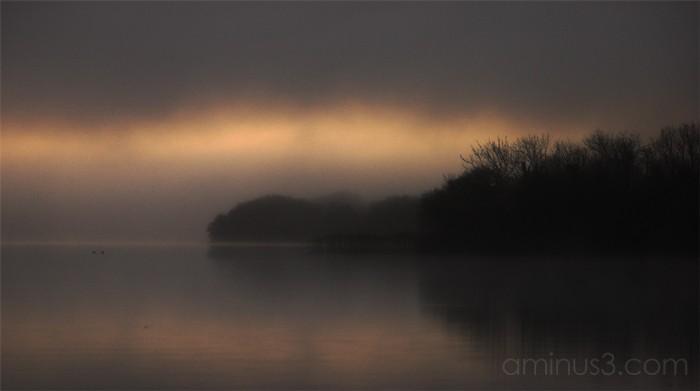 winter lake, 2