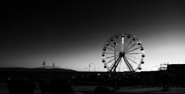 big wheel evening