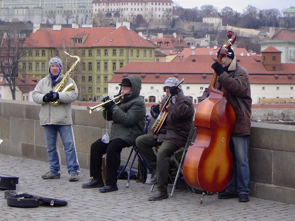 Music over the bridge