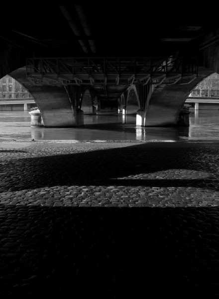 bridge water lyon rhone