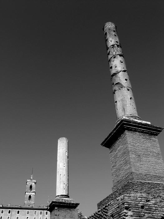 rome ruins antic