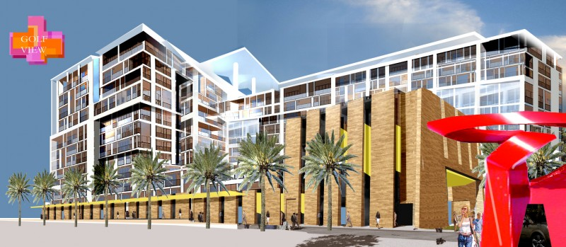 Condominium + Mixed use