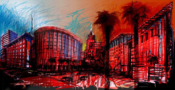 Urban Visualization Libya Tripoli