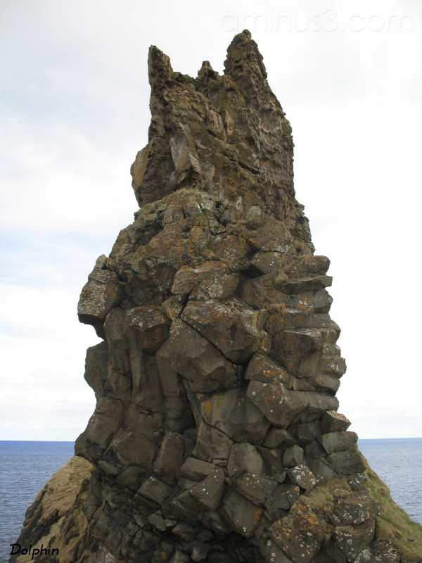 The isolated crag