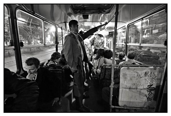 Night bus 923, Budapest