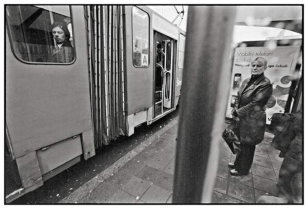 Tram stop, Belgrade