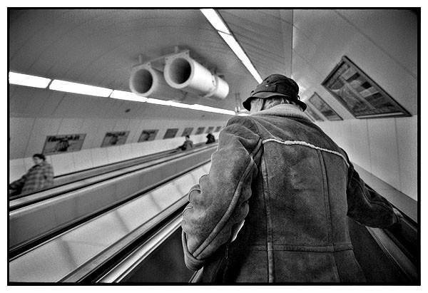 Keleti Station metro underground, Budapest