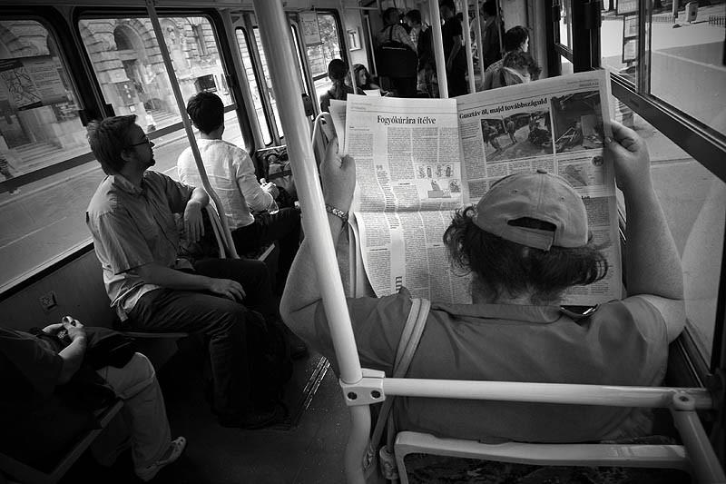 Tram 2. Budapest