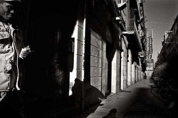 Carrer de la Princesa, Barcelona 2008.