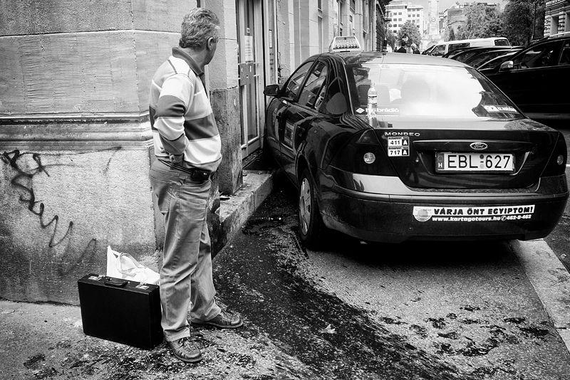 Báthory street, Budapest, 2008.
