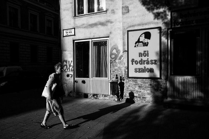 Váci street, Budapest, 2009.