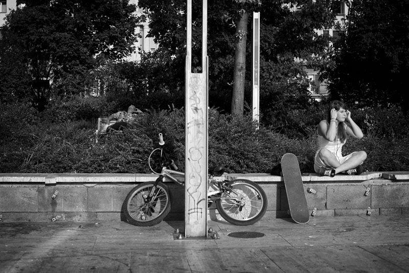 Erzsébet square, Budapest, 2009.