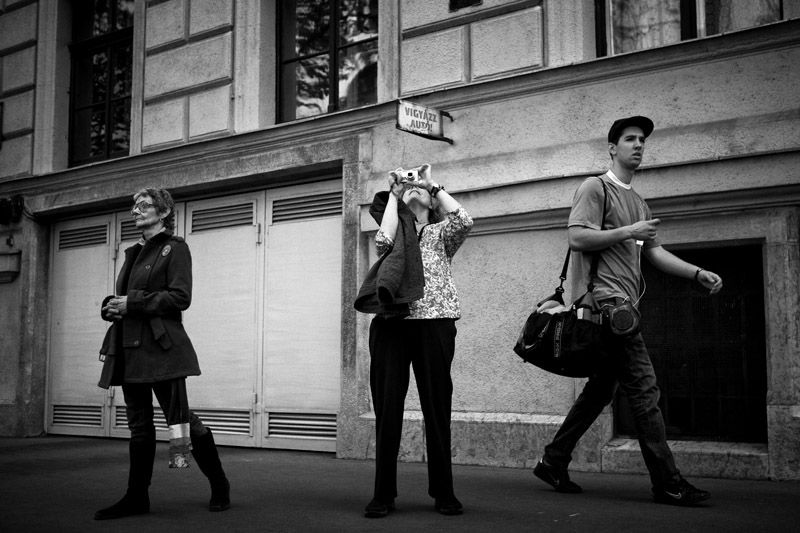 Alkotmány street, budapest, 2011.