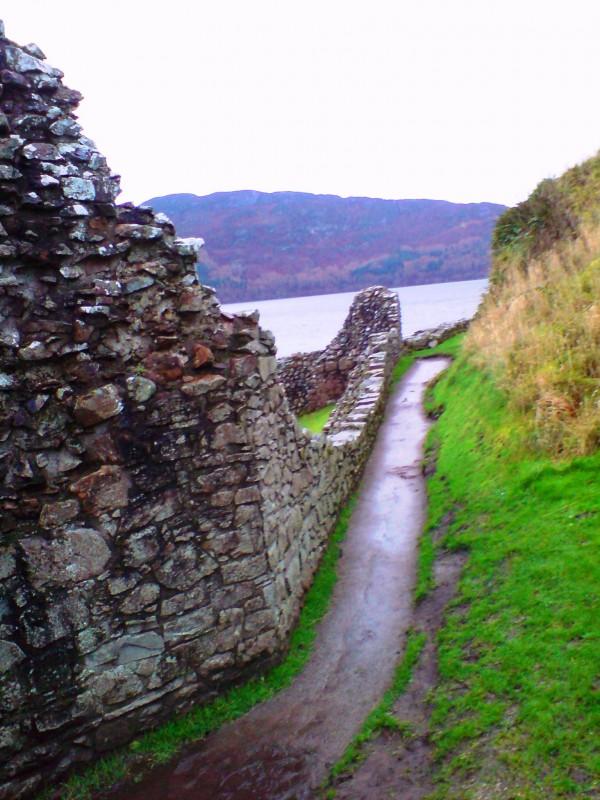Walkway, Urquhart Castle