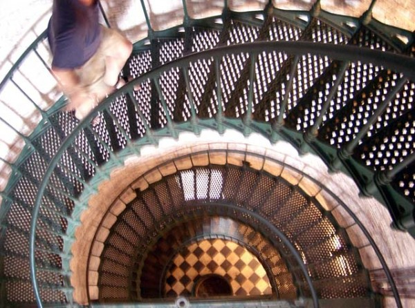 Inside Currituck Lighthouse, Corrola, NC