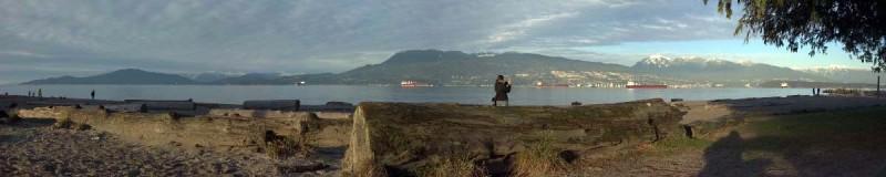 Panorama near Vancouver, B.C.