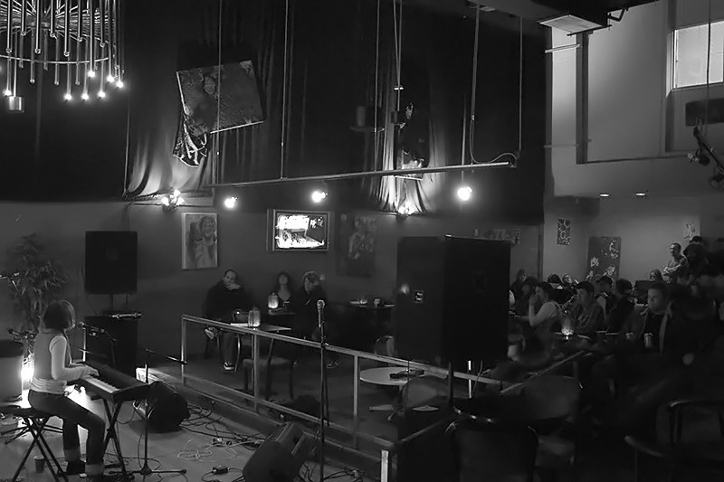 Anousheh Khalili @ Hyperlink Cafe, Richmond, VA