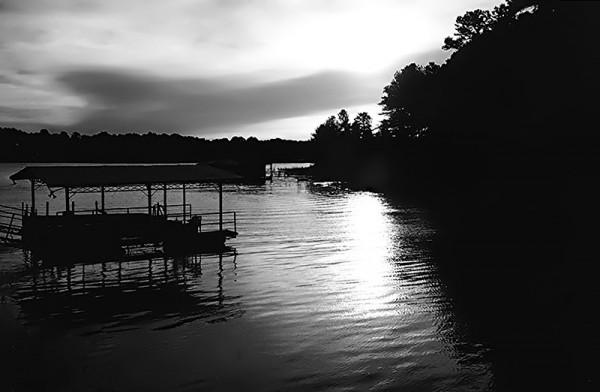 Lake Lanier, GA at dusk