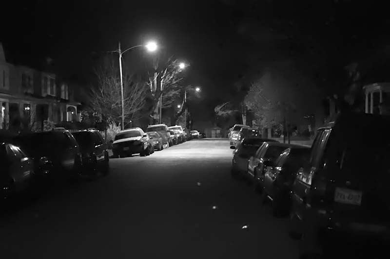 Nottoway Ave, nighttime