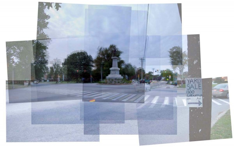 A.P. Hill monument panography