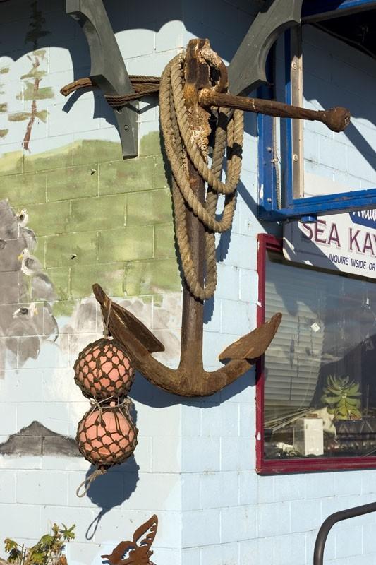 Anchor & buoys
