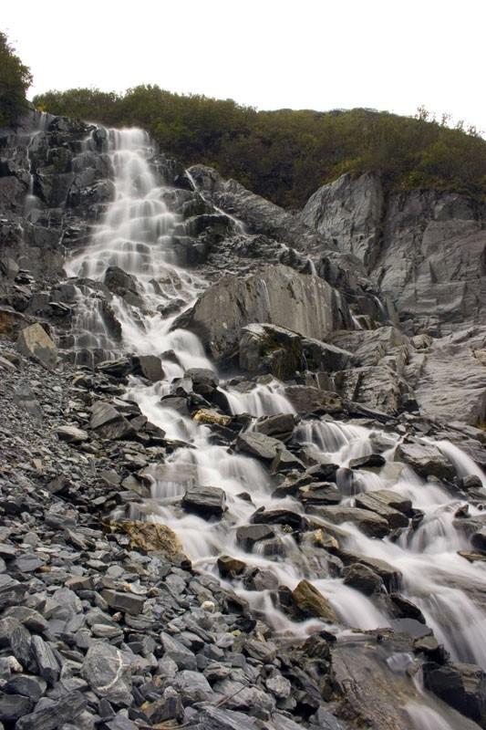 Waterfall near Valdez