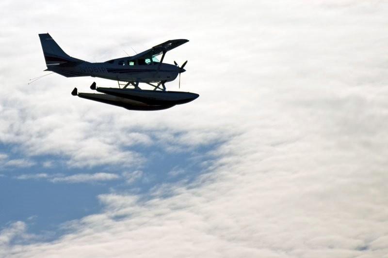 Floatplane silhouette