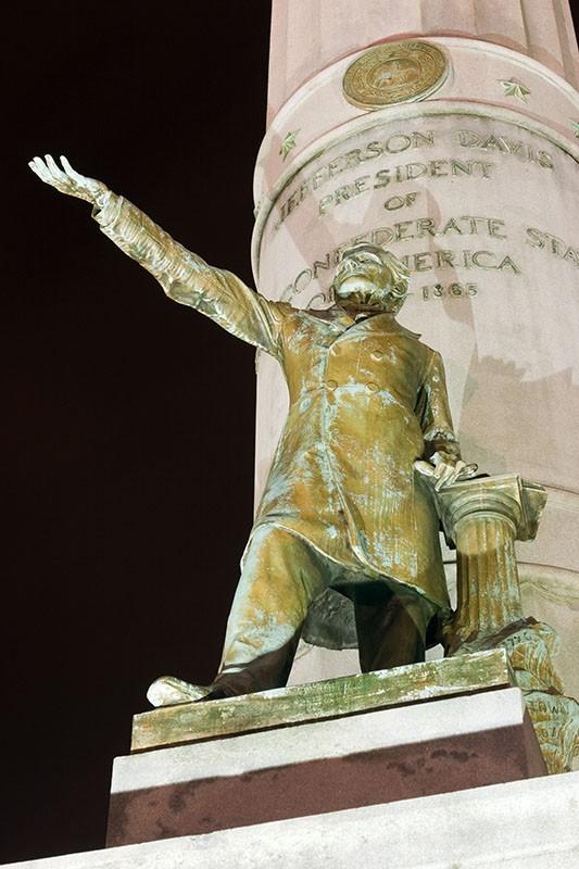 Statue of Jefferson Davis, Richmond, VA