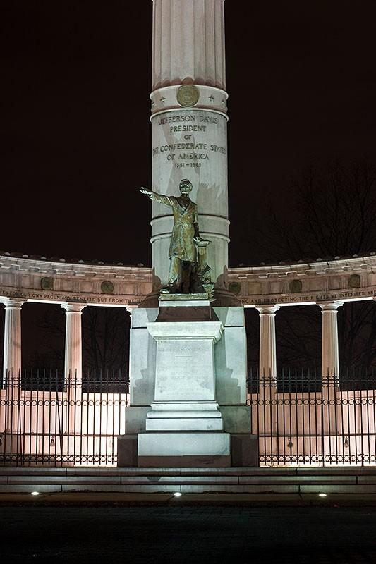 Statue of Jefferson Davis, Richmond, VA #2