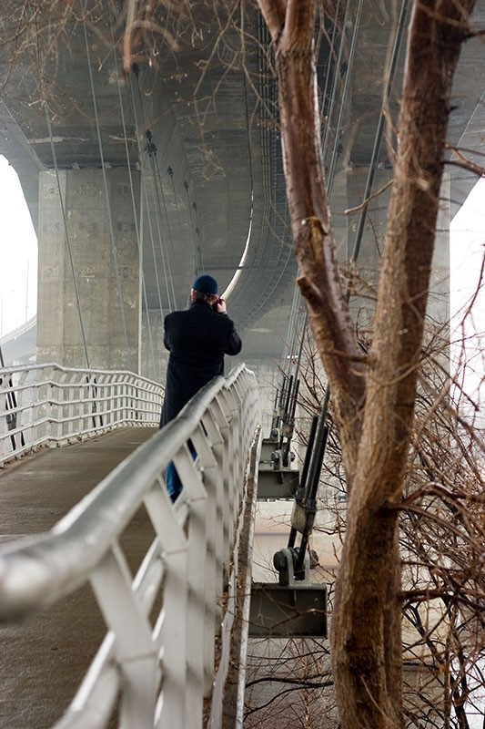 Pedestrian bridge, Richmond VA