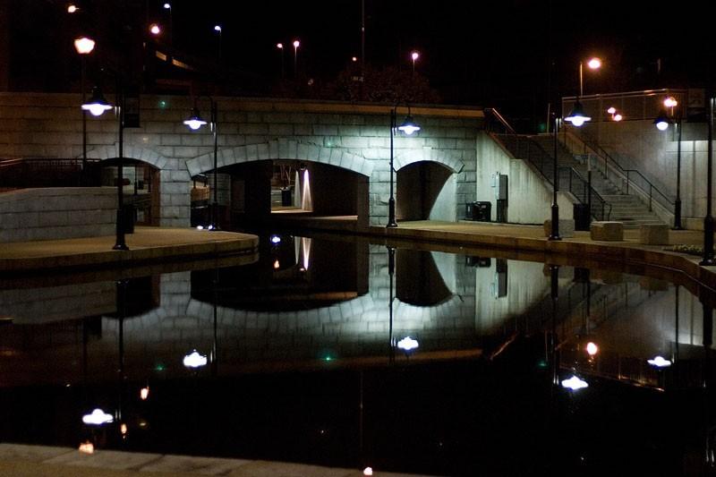 Reflection on Richmond Canal Walk