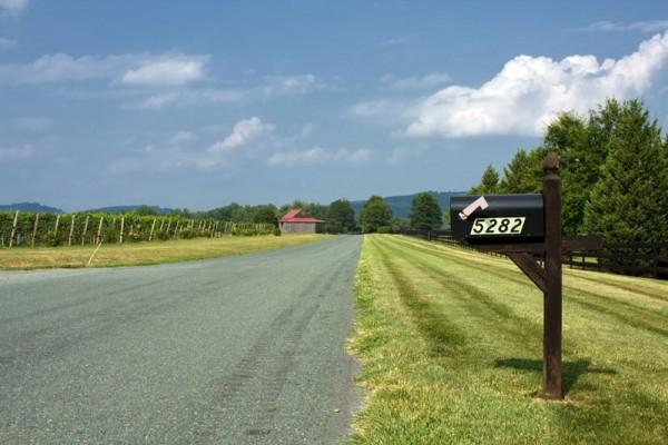 Rural address