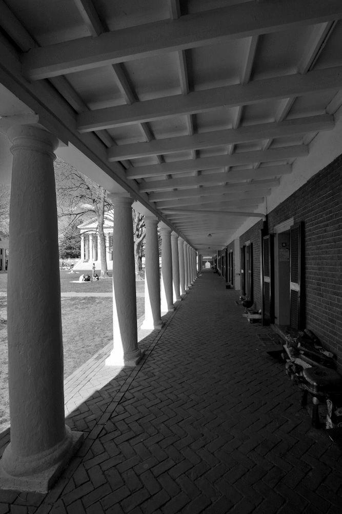 University colonnade