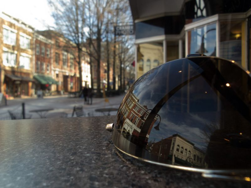 Reflection on the Mall