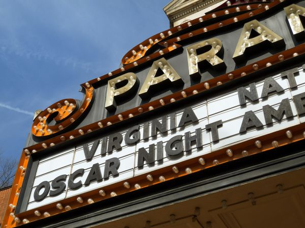 Oscar night marquee