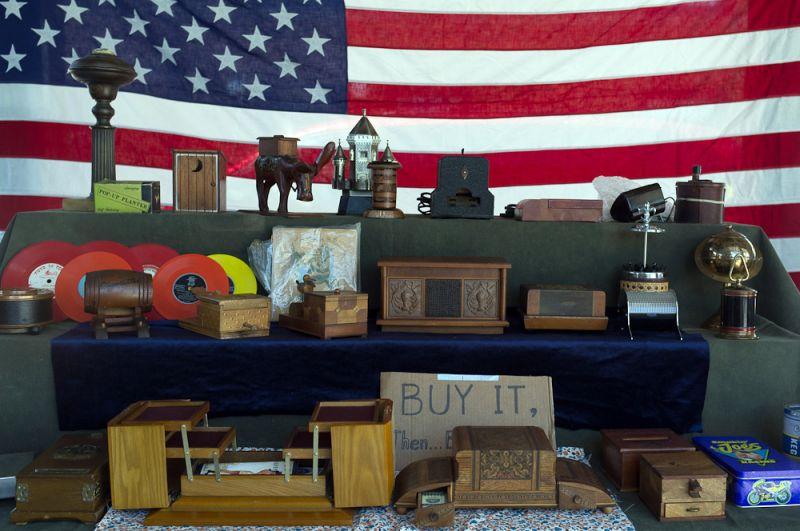 Patriotic antiques