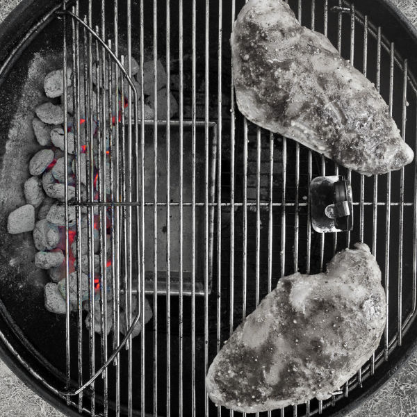 Indirect grill