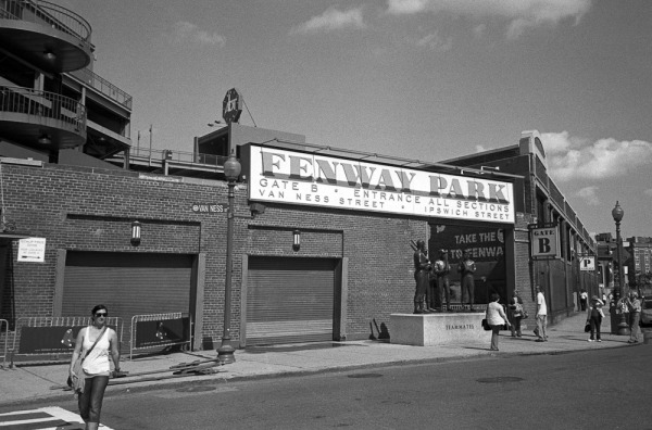 Van Ness entrance, Fenway Park