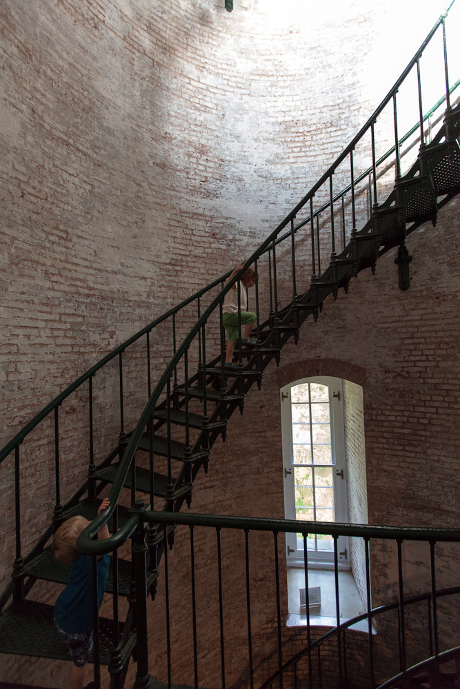 Staircase, Currituck Beach Lighthouse