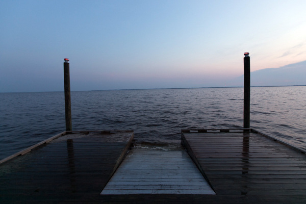 End of the pier