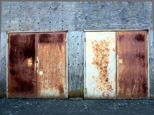 Rusty doors