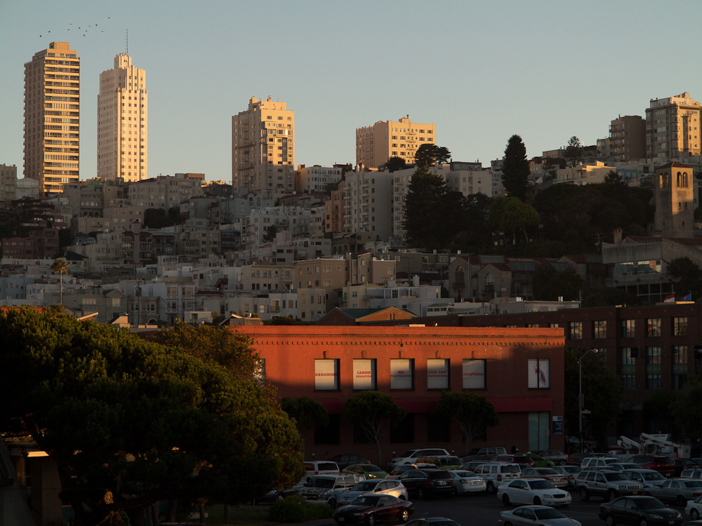 End of the day, San Francisco