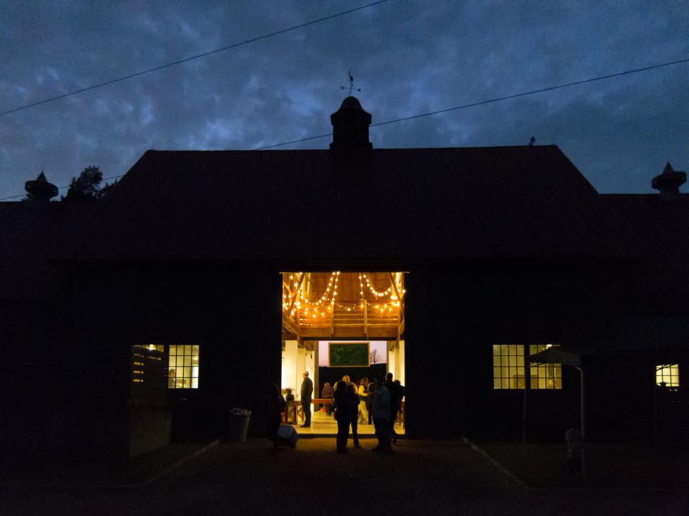 Bellair barn, night