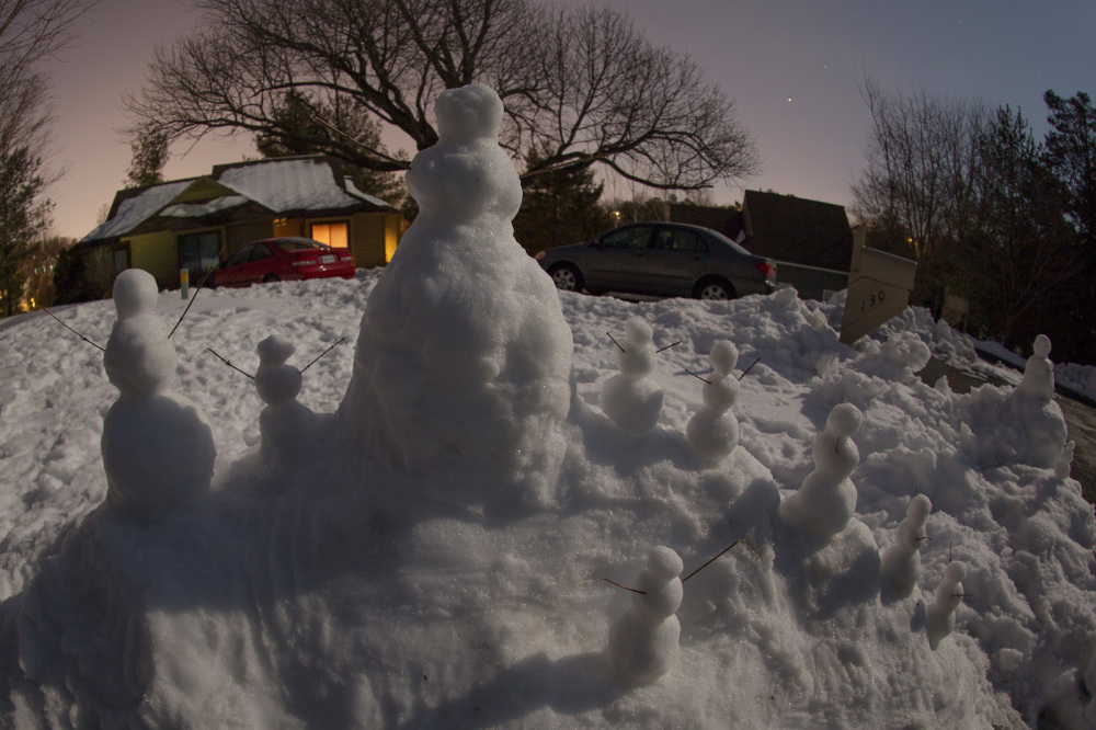 Snowman mountain