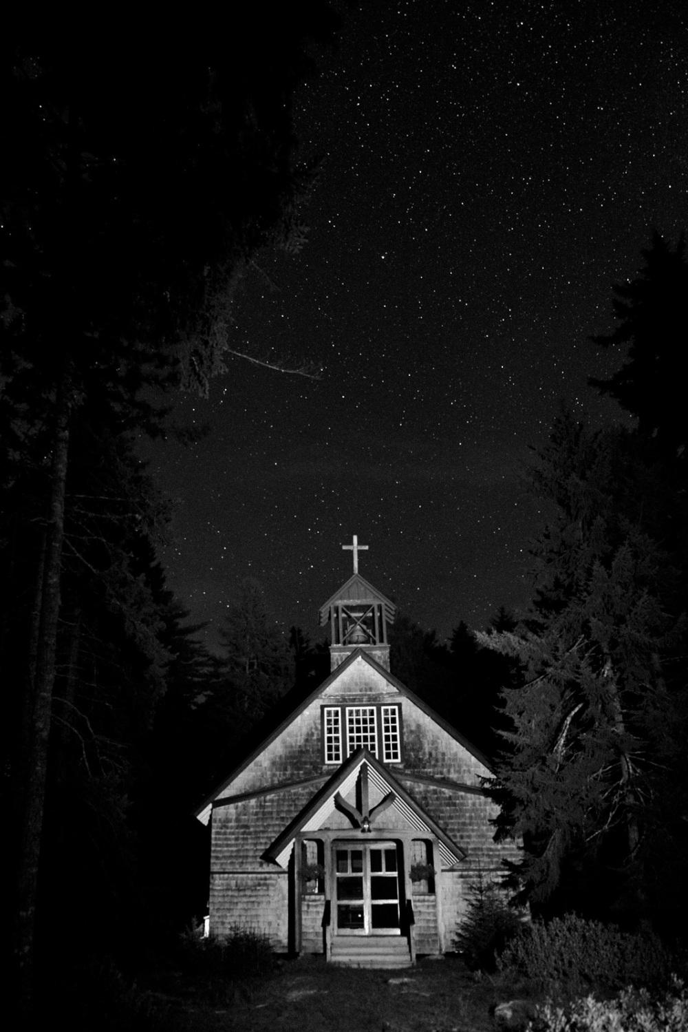 Chapel, MacMahan Island, ME