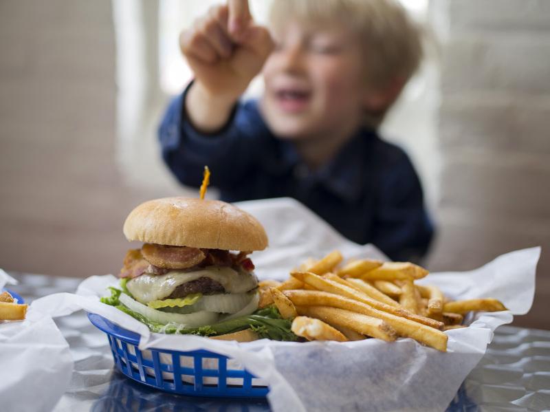 Burger & Fries