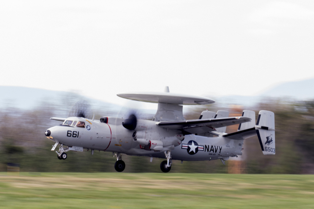 E-2C Hawkeye taking off