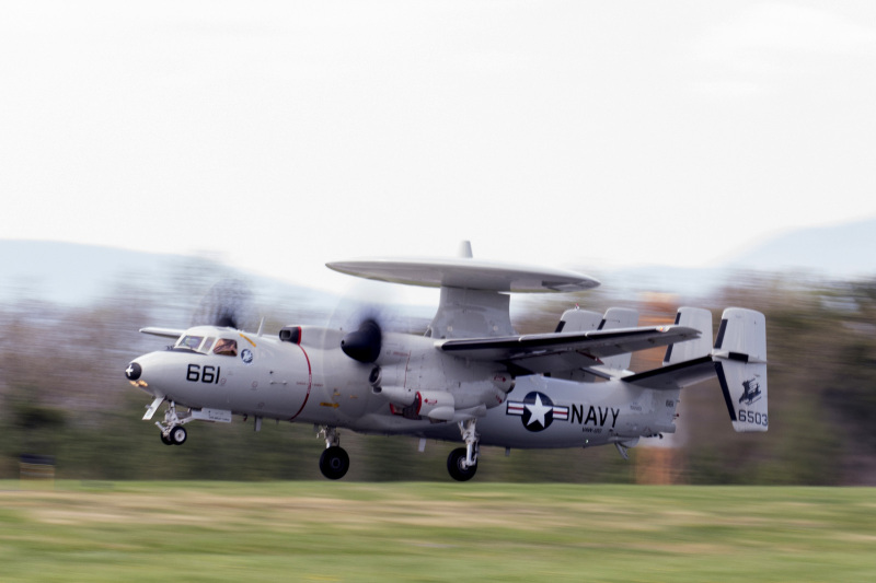 E-2C Hawkeye taking off