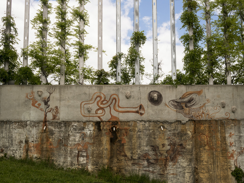 Art park wall